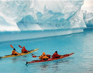 """Terra Antarctica director Jon Bowermaster explored the """"seventh continent"""" by kayak, boat, foot and small plane to document the rapid pace of change."""
