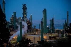 Valero refinery in Benicia, once proposed for Moro Cojo Slough in Moss Landing