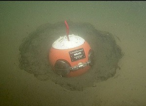 MBARI-detector in the sediment