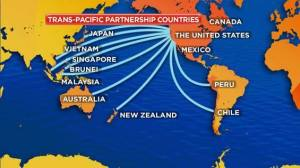 TPP countries map