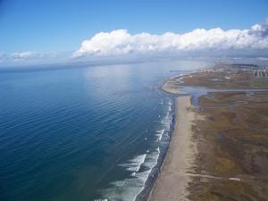 Tijuana River National Estuarine Research Reserve coastline_NOAA