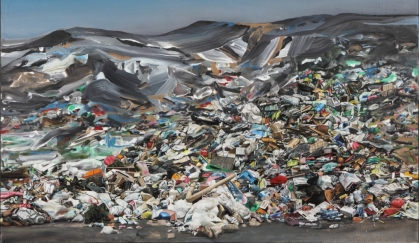 Image result for landscapes filled with plastics