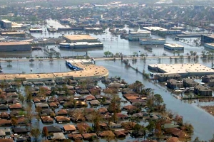 Sea level rise fueled by climate change will affect where people can live along the coast. Photo courtesy NOAA