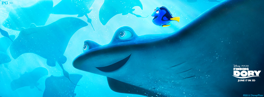 Catch Finding Dory in theaters in 3D June 17. #FindingDory