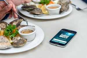 Use the Seafood Watch app to choose ocean-friendly options.