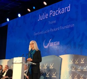 Julie Packard at Our Ocean 2016