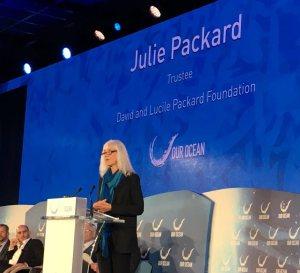 Julie Packard at Our Ocean 2016