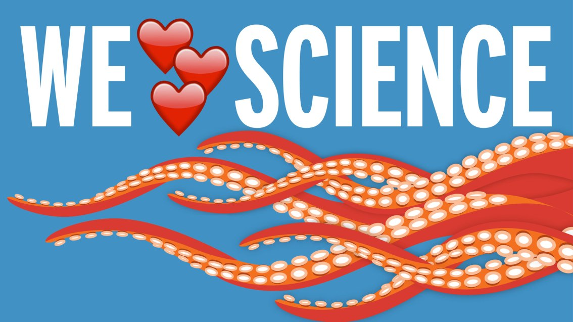 We're lacing up for the March for Science