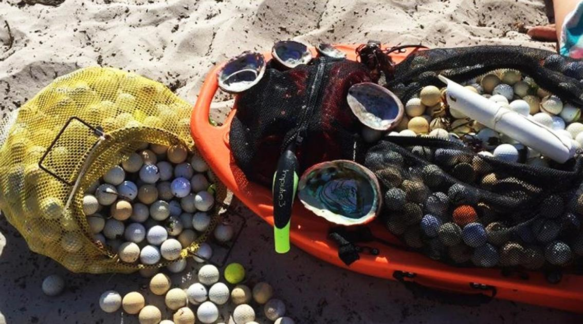 Teens tackle an unlikely source of plastic pollution: wayward golfballs