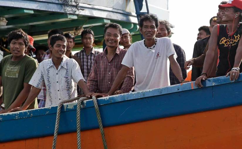 Scientists seek global commitment to end human rights abuses in seafoodtrade