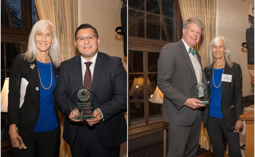 Honoring our 2018 California Ocean Champions: Assemblymembers Eduardo Garcia and MarkStone