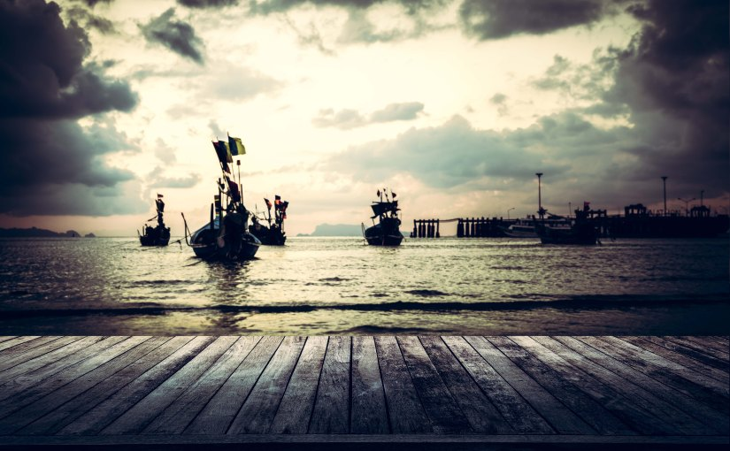 Shining a light on seafoodslavery