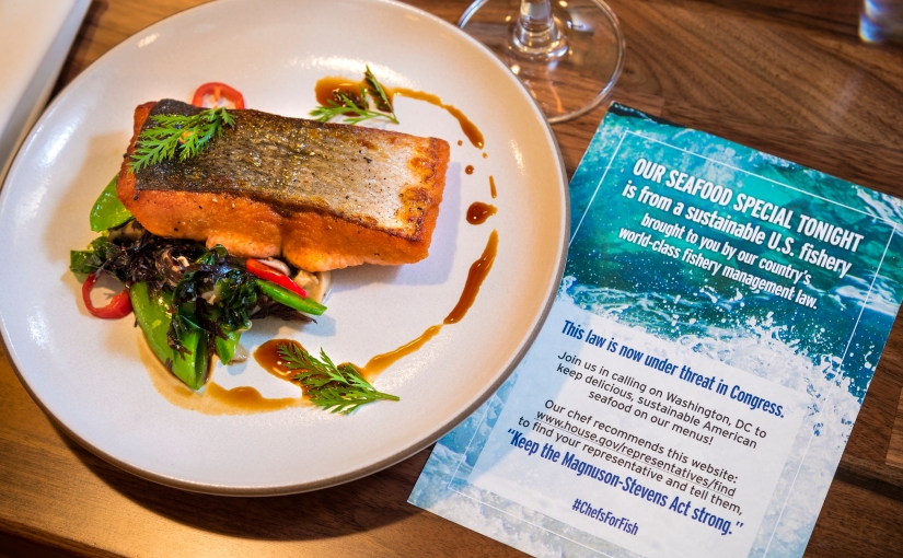 Chefs serve up support for sustainable U.S.seafood