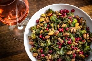 Crispy Brussels sprouts - The Restaurant - Monterey Bay Aquarium